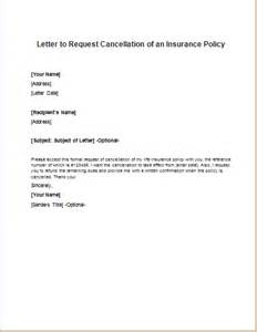 letter to cancel insurance car policy  Car Insurance Policy: Letter To Cancel Car Insurance Policy