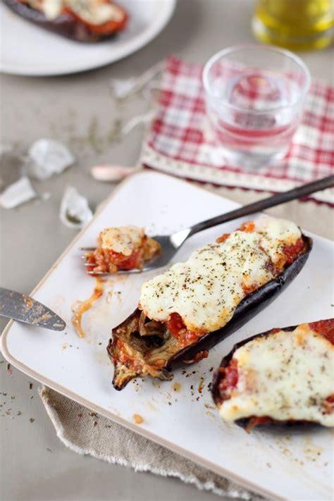 cuisiner la mozzarella aubergines rôties sauce tomate et mozzarella recette