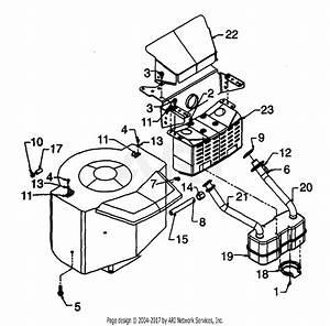 Mtd 13ai69ah118  1999  Parts Diagram For Muffler 690 Thru 699