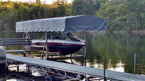 Vertical Boat Lift Cable Routing by Lifts And Docks Craftlander Faq