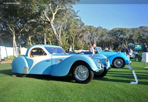 1937 Bugatti Type 57sc Atalante At The Amelia Island