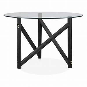 Dessus De Table En Verre : table basse henrietta en bois et verre cult furniture ~ Dode.kayakingforconservation.com Idées de Décoration