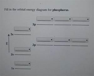 Solved  Fill In The Orbital Energy Diagram For Phosphorus