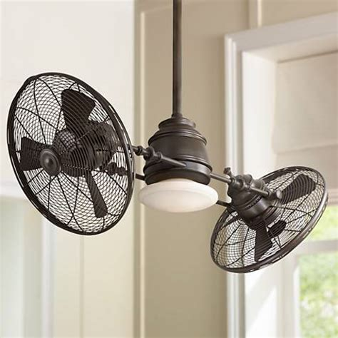 Gyro Ceiling Fans With Lights by Minka Aire Vintage Gyro Rubbed Bronze Ceiling Fan