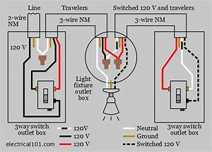 Alternate 3 Way Switch Wiring