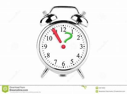 Clock Question Mark Exclamation Point Horloge Alarm