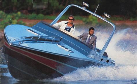 Miami Vice Boat Don Johnson by Scarab Pics From Miami Vice