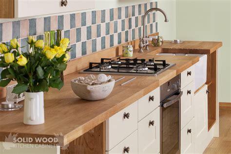 bring spring   home  solid oak kitchen