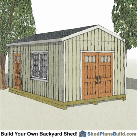 Free Shed Blueprints 12x20 by 12x20 Shed Plans 12x20 Storage Sheds