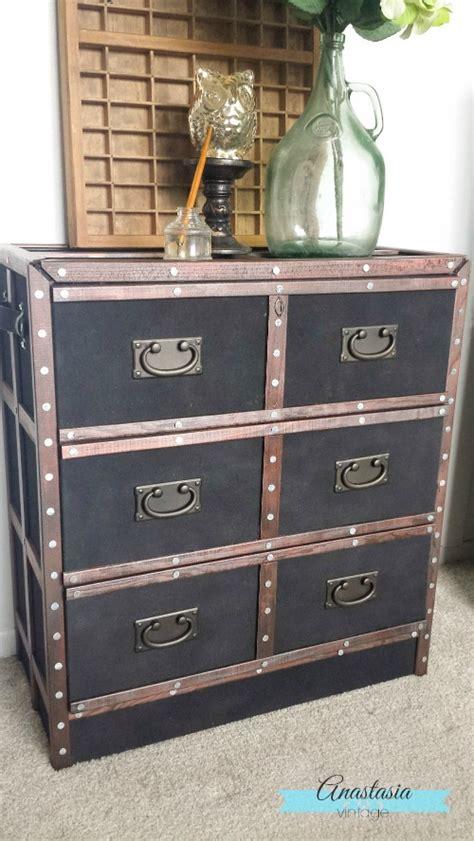 Vintage Nightstand by Pottery Barn Inspired Dresser Ikea Rast Hack Anastasia