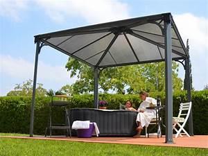Tonnelle Terrasse : chalet jardin boutique tonnelle couv 39 terrasse 3x3m ~ Melissatoandfro.com Idées de Décoration
