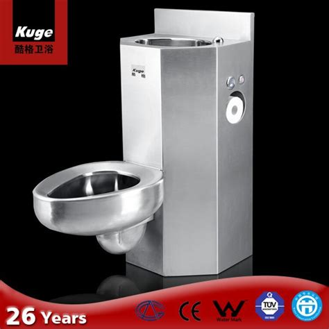 prison toilet and sink 304 stainless steel prison toilet sink combination view