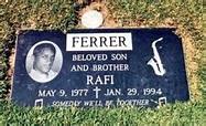 """Rafael """"Rafi"""" Ferrer (1977-1994) - Find A Grave Memorial"""