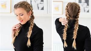 How to: Double Dutch Braid Hair Tutorial Luxy Hair YouTube