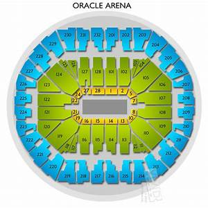 Oakland Oracle Seating Chart Oracle Arena Tickets Oracle Arena Seating Vivid Seats