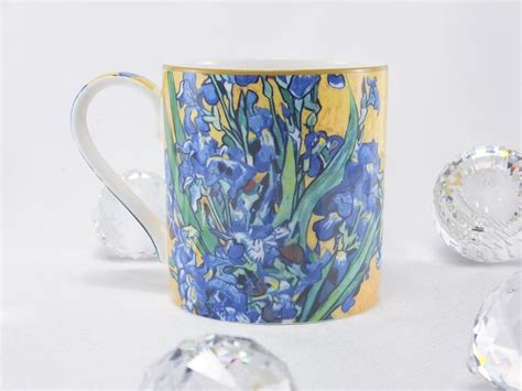 A hidden gem of a coffee house when you first drive past gogh gogh, it's hard to see that there's a coffee house in the building. Vincent van Gogh Irises coffee cup - Exclusive collection - DELUXE by MJS