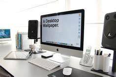 imac desk office ideas images imac desk