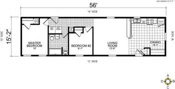 Wide Mobile Home Floor Plans by Single Wide Mobile Home Floor Plans Bestofhouse Net 25990