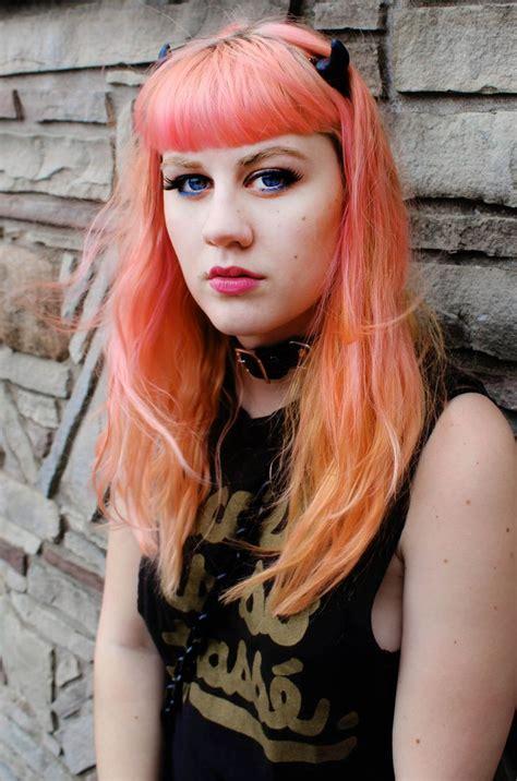 Bright Orange Ombre Hair Books Worth Reading Pinterest