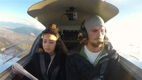 airplane marriage proposal engine failure youtube