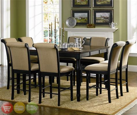 Counter Height Dining Room Tables 5 dining room set table counter height upholstered
