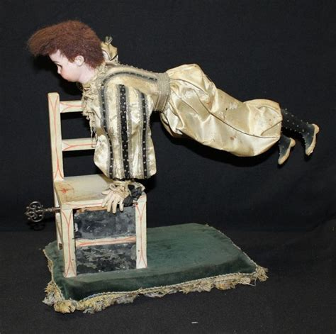chaise allemande quot clown acrobate sur sa chaise quot automate à musique de