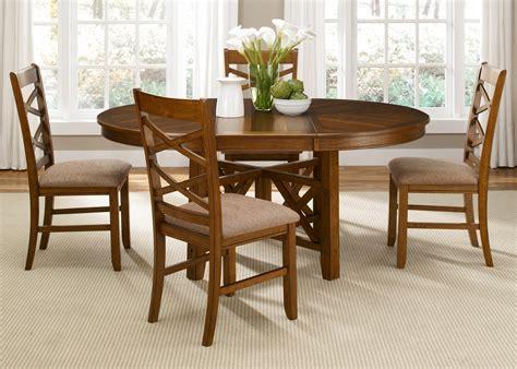 bistro oval pedestal dining room set  liberty