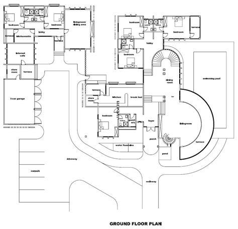 big houses floor plans big house floor plans home interior design ideashome