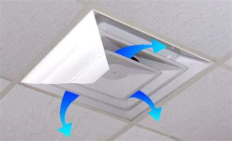 Office Ceiling Air Vent Deflector by Airvisor Air Deflector For Office Ceiling Vents 24 Quot X 24