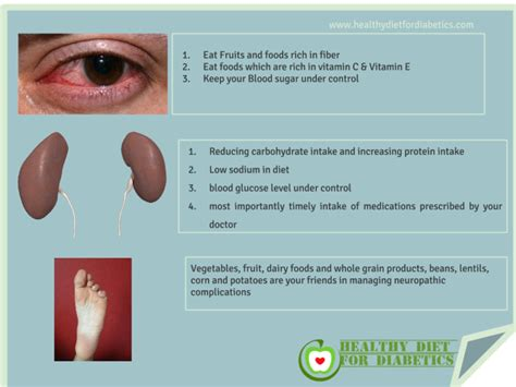 manage complications   diabetes type