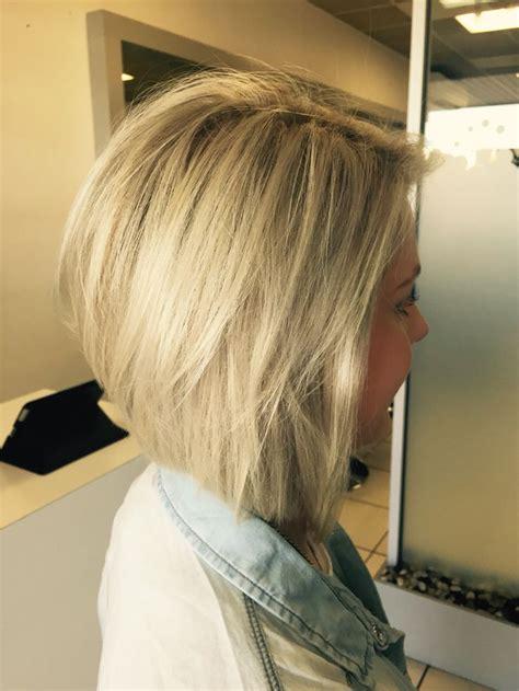 My hair blonde concave bob hair Pinterest Bobs My