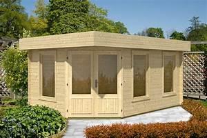 Haus Bausatz Holz : gartenhaus flachdach 453x299 holzhaus bausatz mit fenster f nf eck holz haus vom gartenhaus ~ Whattoseeinmadrid.com Haus und Dekorationen