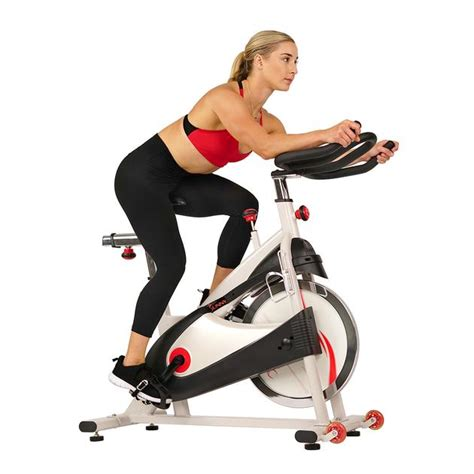 Clipless Pedal Premium Exercise Bike - Sunny Health & Fitness