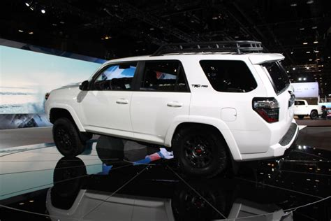 2019 Toyota Trd Pro Series Models Chicago Auto Show Photo