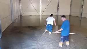 Betonáž podlahy v garáži