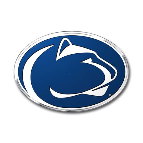 penn state colors penn state nittany lions color emblem car or truck decal
