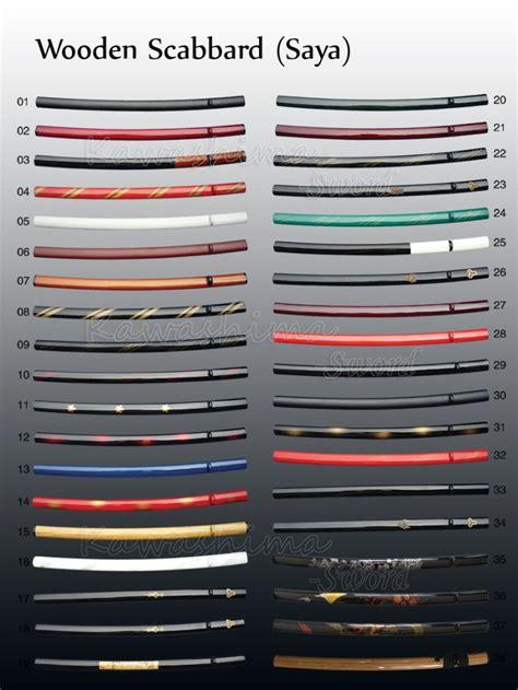 length japanese samurai sword sheath katana scabbard
