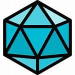 Icosahedron Icon Icons