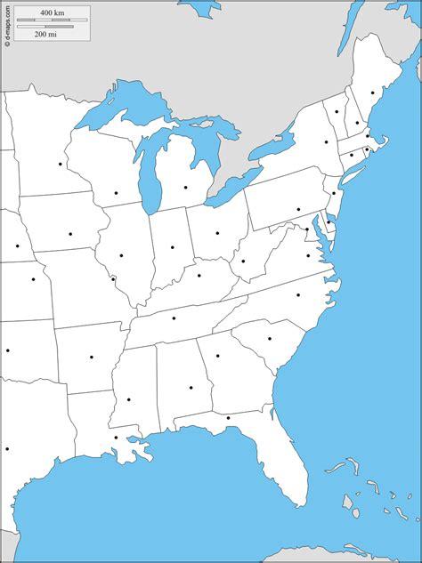 Usa Osten Karte