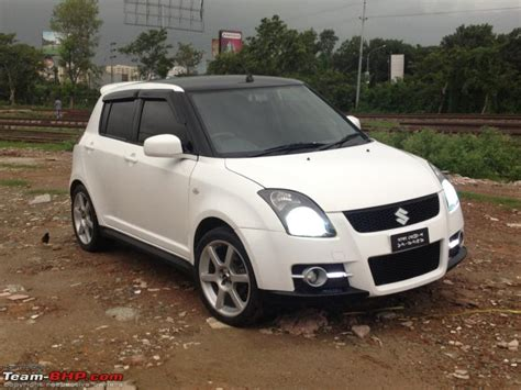 The Gallery For --> Maruti Swift Modified In White