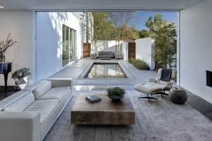 Style Home Plans With Courtyard Small Courtyard Swimming Pool Home