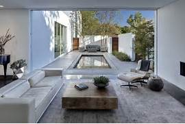 Likewise Rustic Metal Building Homes Furthermore Small Modern Home Serene House With Courtyard Pond Small Courtyard Dividing A Kitchen From Other Rooms Modern Courtyard Garden Pictures To Pin On Pinterest