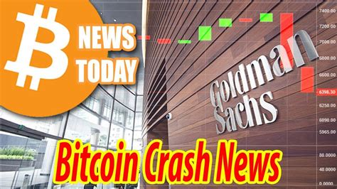 Bitcoin is a distributed, worldwide, decentralized digital money. Goldman Sachs Made Bitcoin Crash? Bitcoin News Today - YouTube