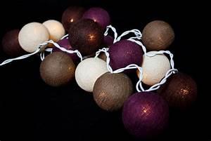 Guirlande Lumineuse Interieur : guirlande lumineuse de boules de coton chiang mai guirlandes lumineuses boules de coton ~ Teatrodelosmanantiales.com Idées de Décoration