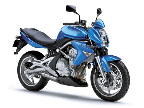 Kawasaki Er 6n Wallpapers by Kawasaki Er 6n Sportbike Blue Motorcycle Wallpapers