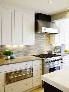 shaker kitchen cabinets 2x4 carrara marble tiles blue grey paint charcoal 5164
