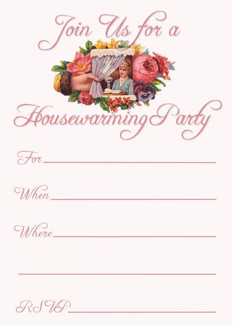 printable housewarming party invitations templates