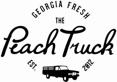 Peach Truck Peaches Georgia Farm Recipes Fresh