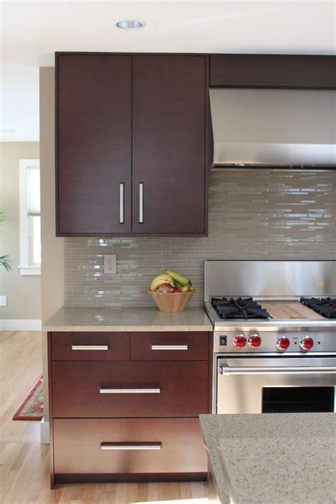 dark cabinets light countertops backsplash backsplash ideas kitchen contemporary with light