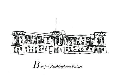 london alphabet   buckingham palace original